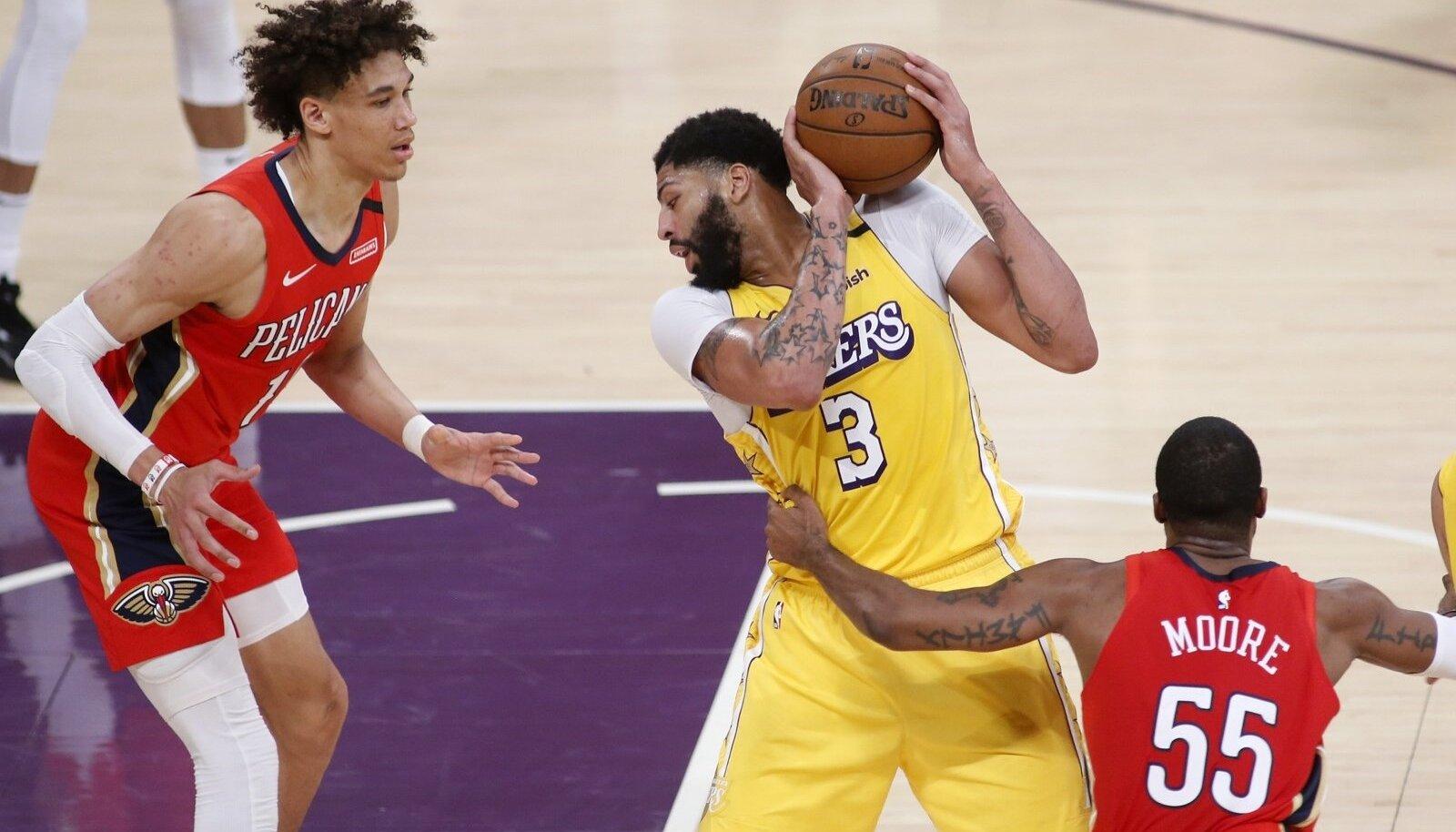 NBA 2020: Lakers 123:113 Pelicans