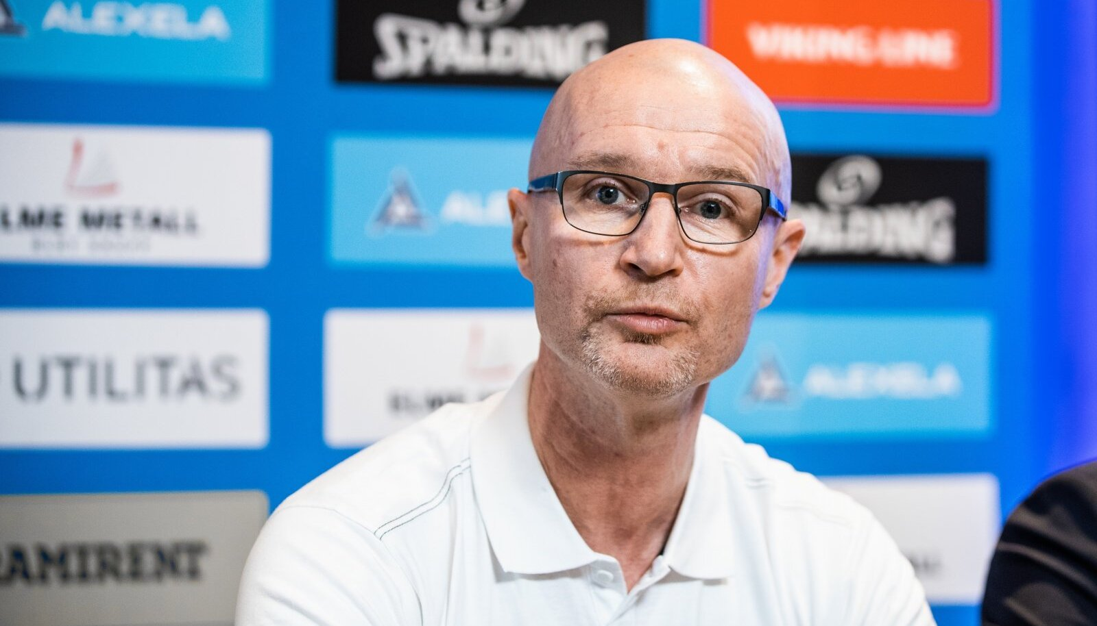 Eesti korvpallikoondise peatreener Jukka Toijala.