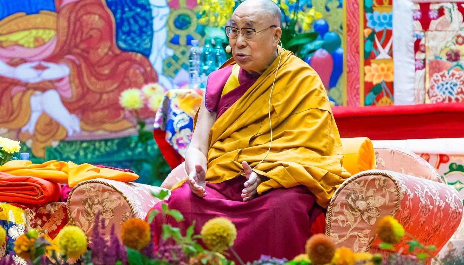 Dalai-laama Riias 2017