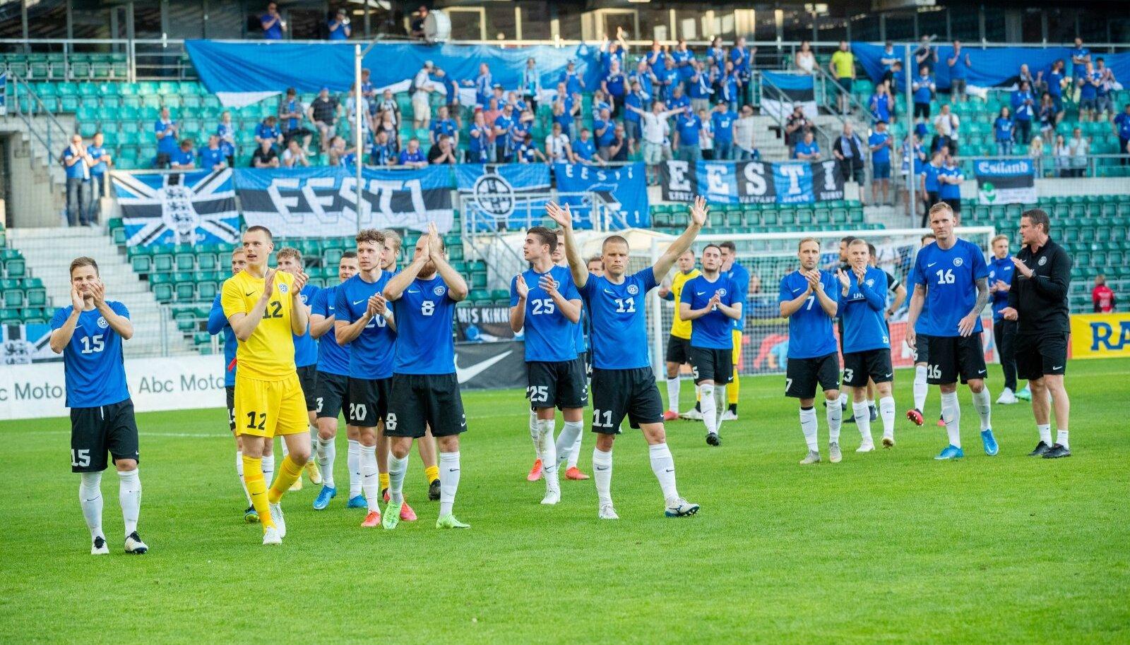 Eesti jalgpallikoondise mänge hakkab tulevikus nägema Viaplays.