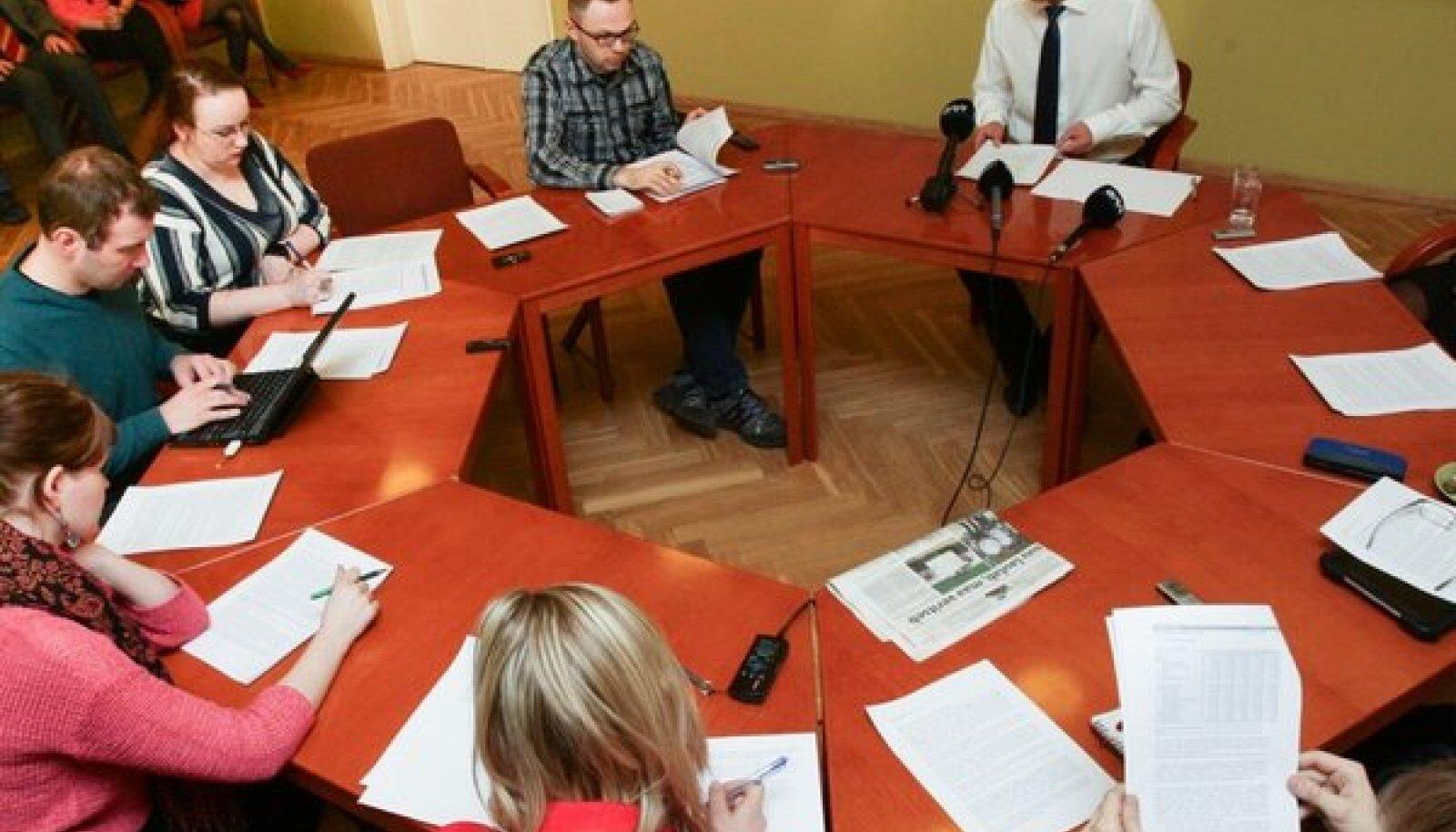 Nukuteatri auditi tutvustamine kultuuriministeeriumis.