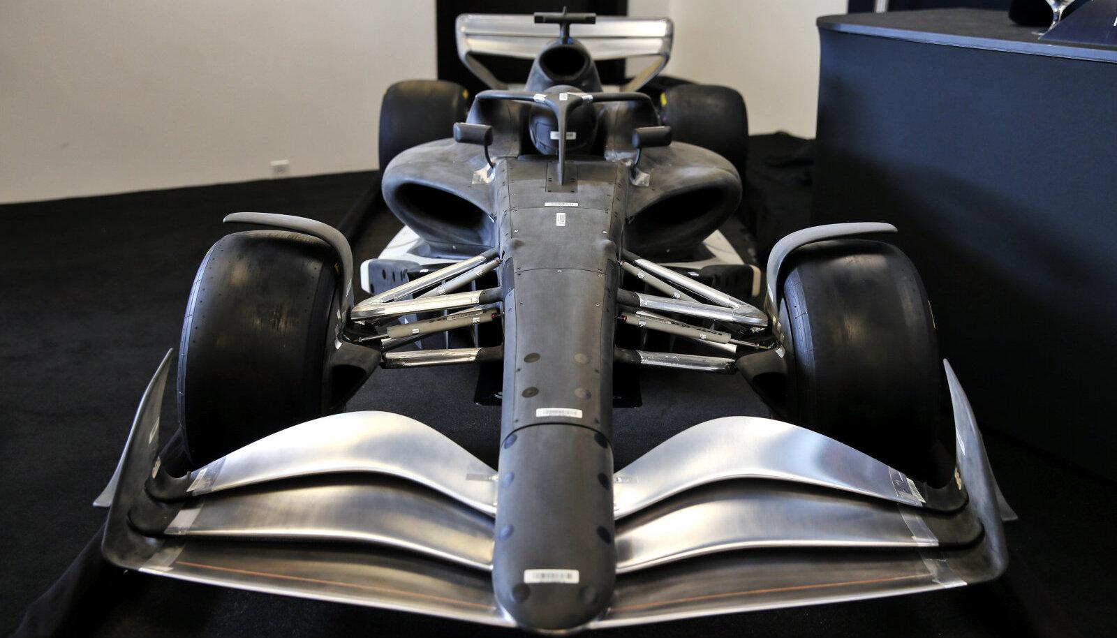Sellised peaksid F1 autod välja nägema aastal 2021.
