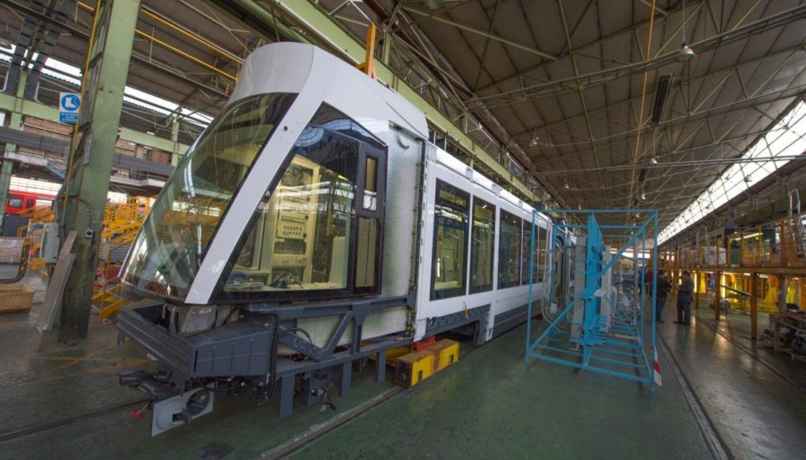 Tallinna trammide ehitamine Hispaanias