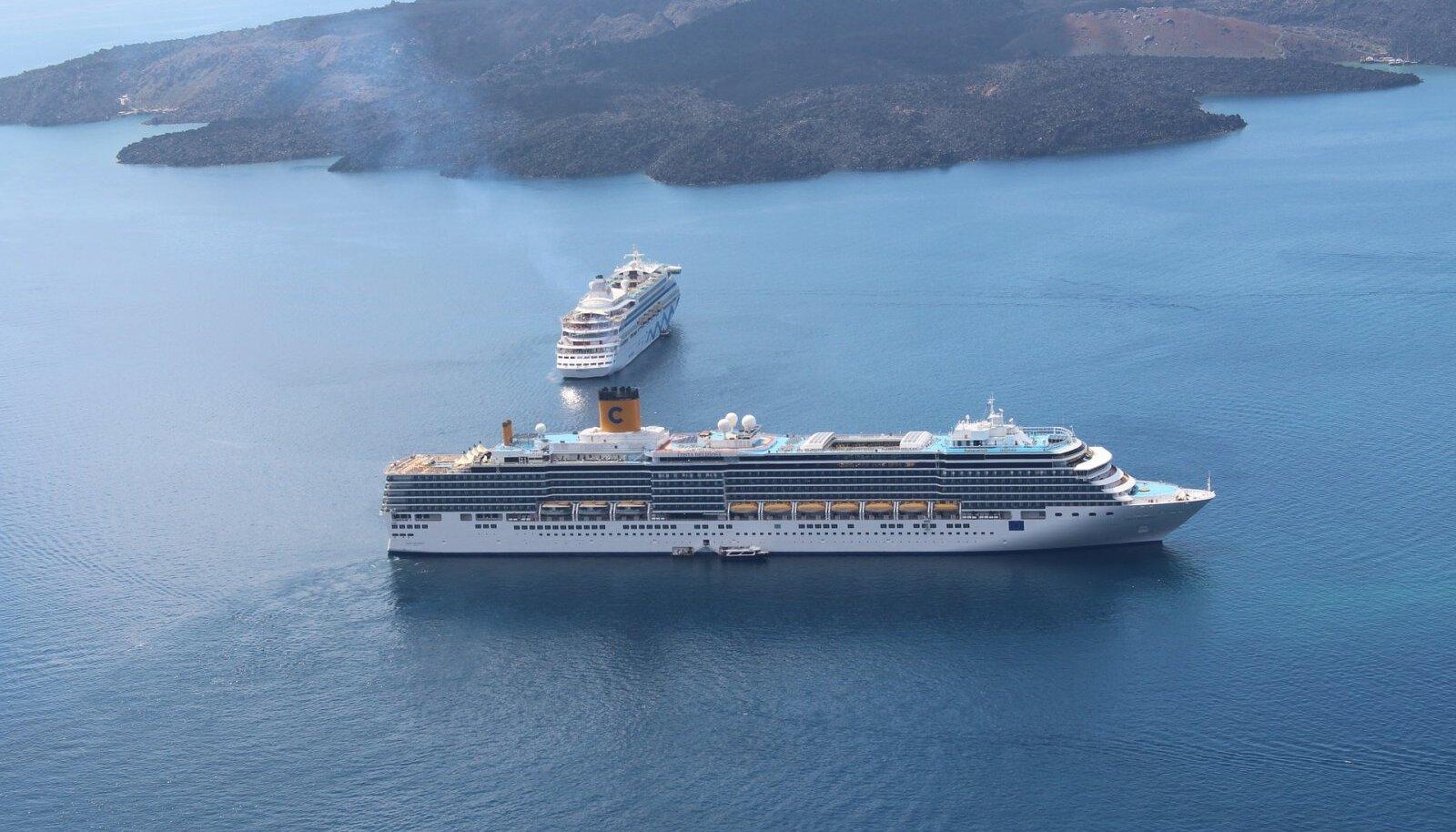 Kruiis toimub laeval Costa Deliziosa