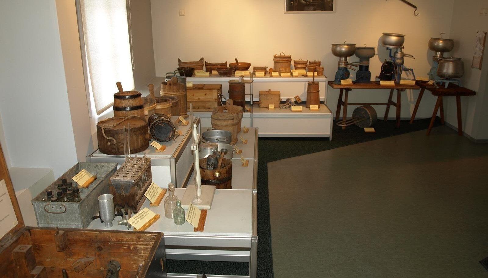 Eesti piimandusmuuseumis saab meie piimatootmise ajaloost huvitava ja põhjaliku ülevaate.