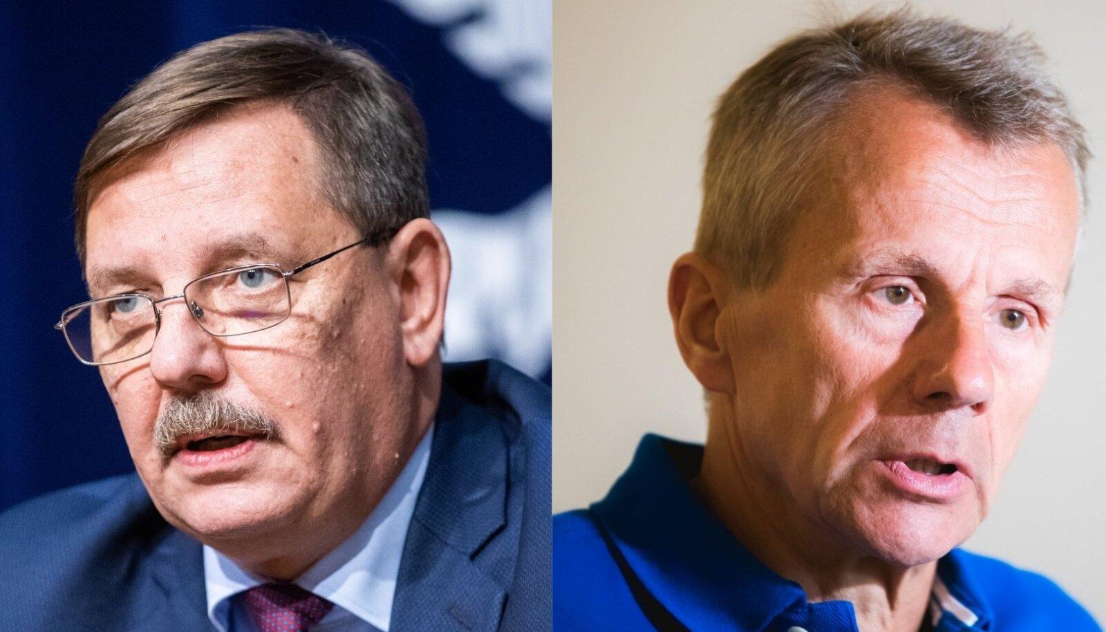 Taavi Aas ja Jürgen Ligi