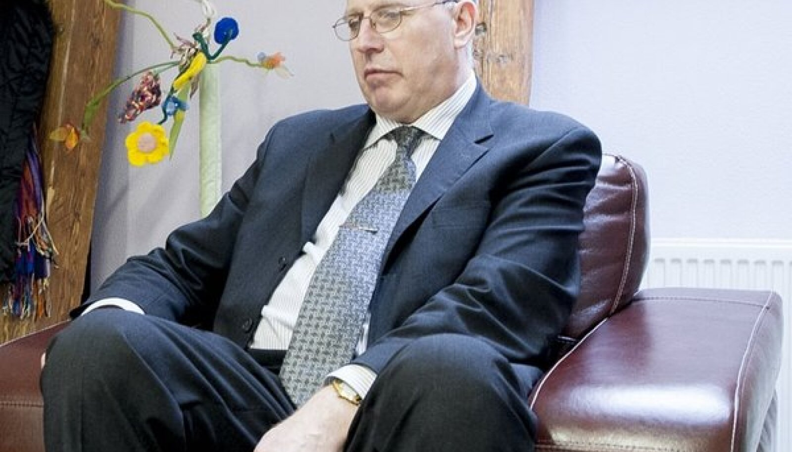 Õpetaja Aivar Luhaorg nendib, et tema jõud käitumisraskustega lastest üle ei käi.