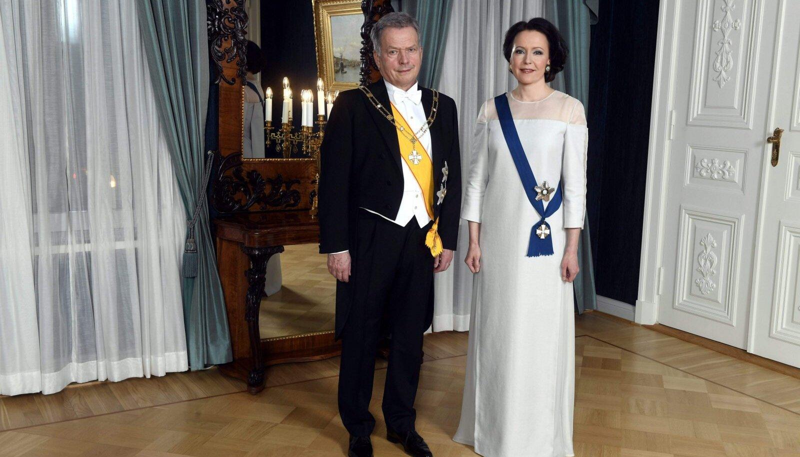 President Sauli Niinistö ja Jenni Haukio