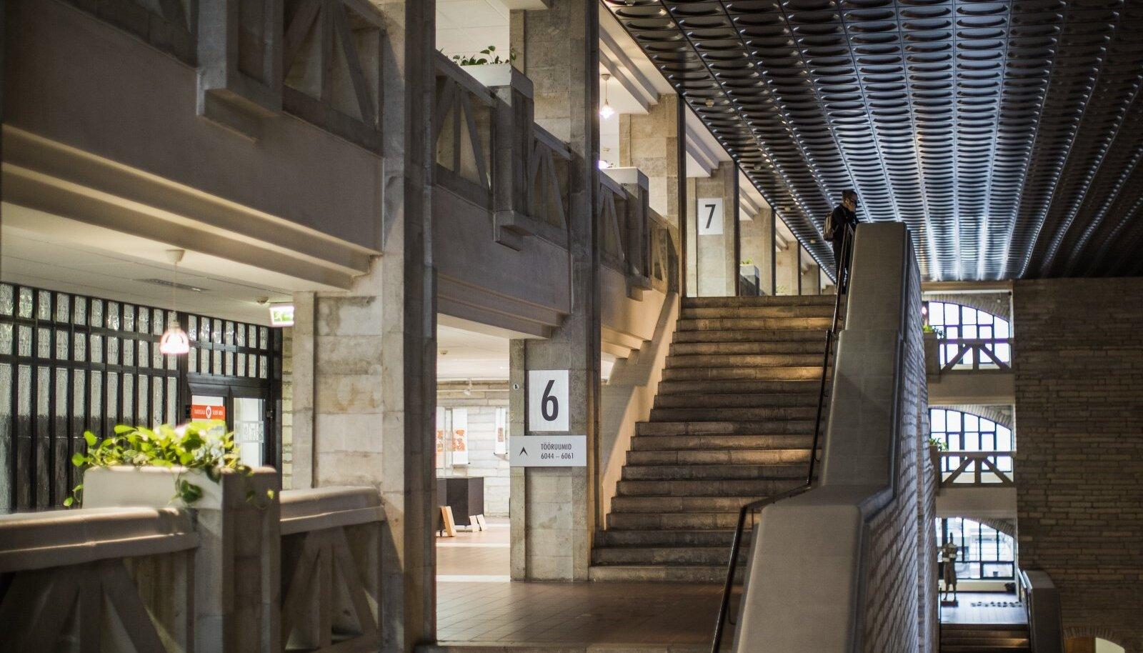 Eesti rahvusraamatukogu praegune hoone valmis 1993. aastal ja on praeguseks amortiseerunud.