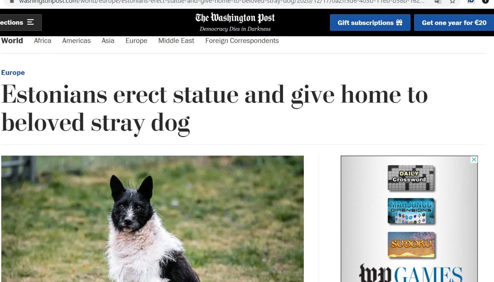 Žorik Wahington Postis