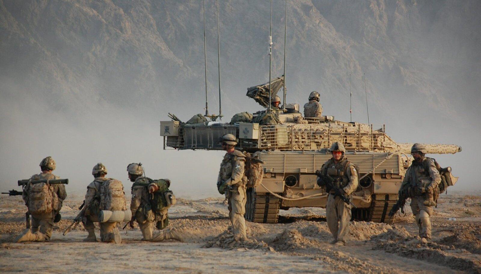 Kanada sõdurid Kandahari lähistel