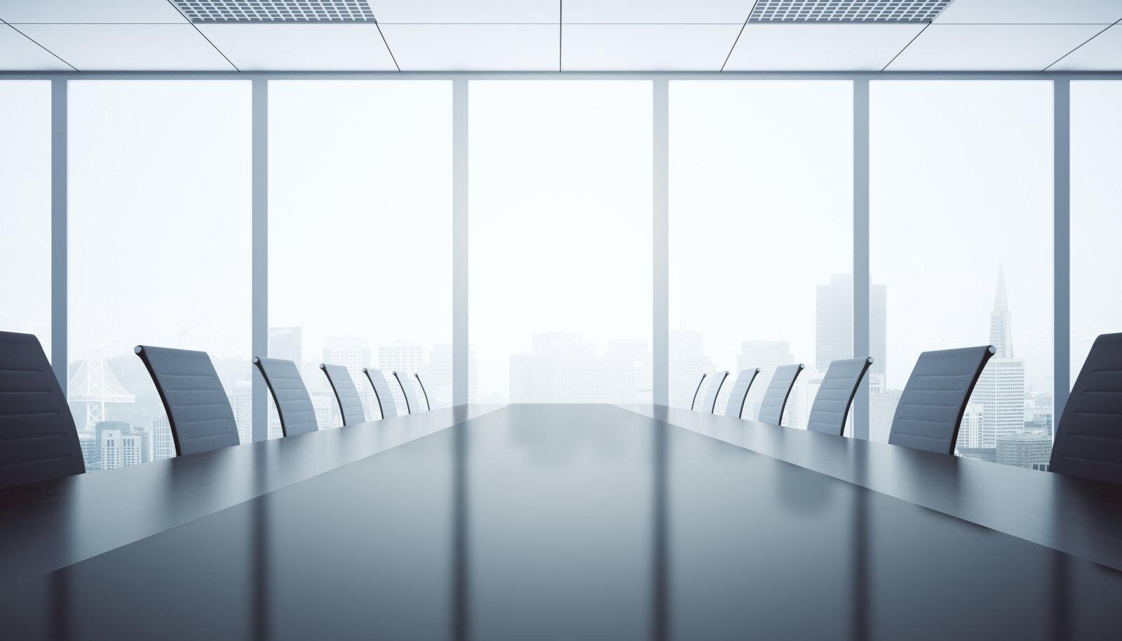 Tühi koosolekuruum