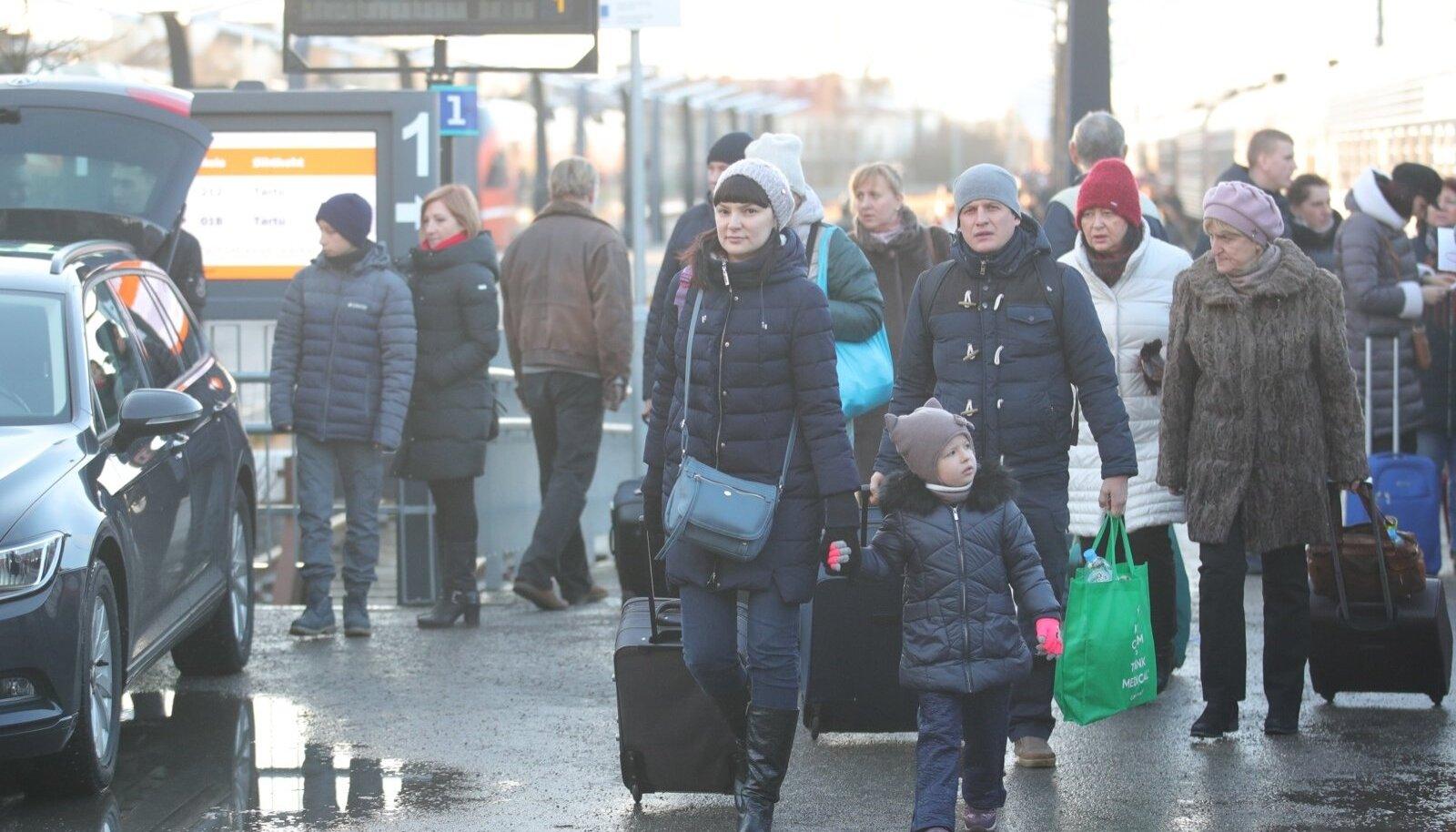 vene turistid Tallinnas