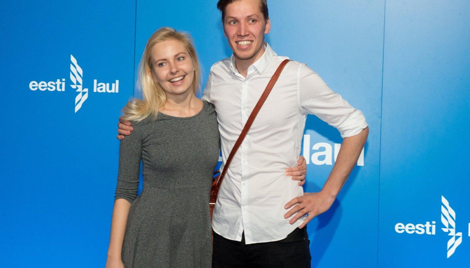 Piret Järvis ja Egert Milder