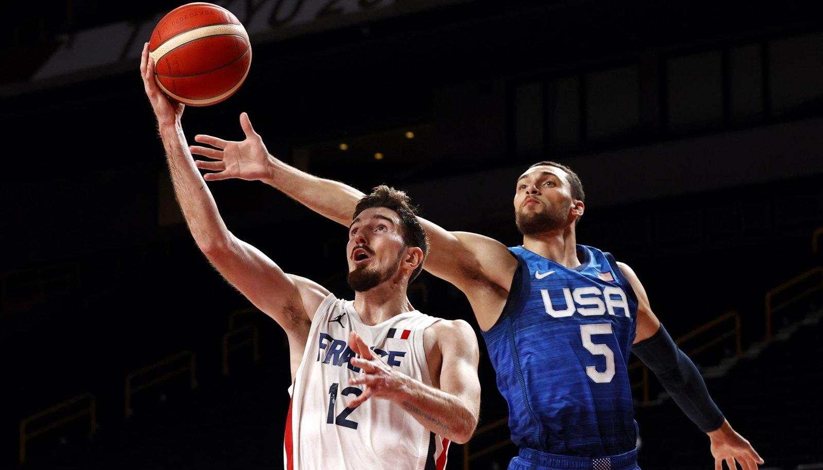 Nando De Colol ja Prantsusmaa koondisel on USA vastu kahemänguline võiduseeria.