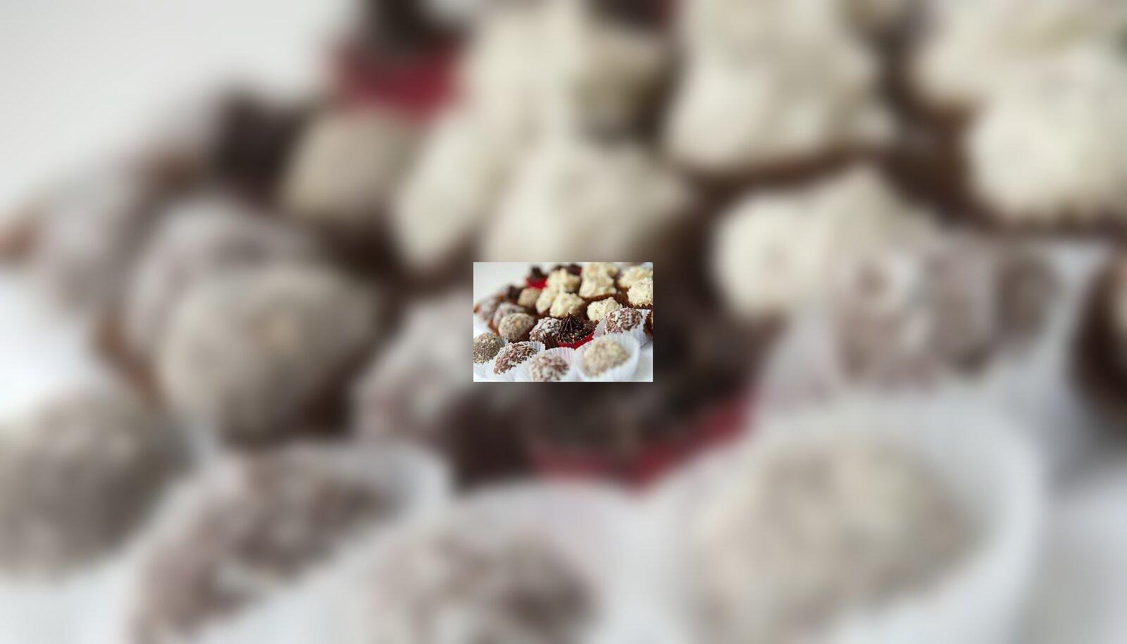 7aa2c3c55a0 Šokolaadikommid armastusega