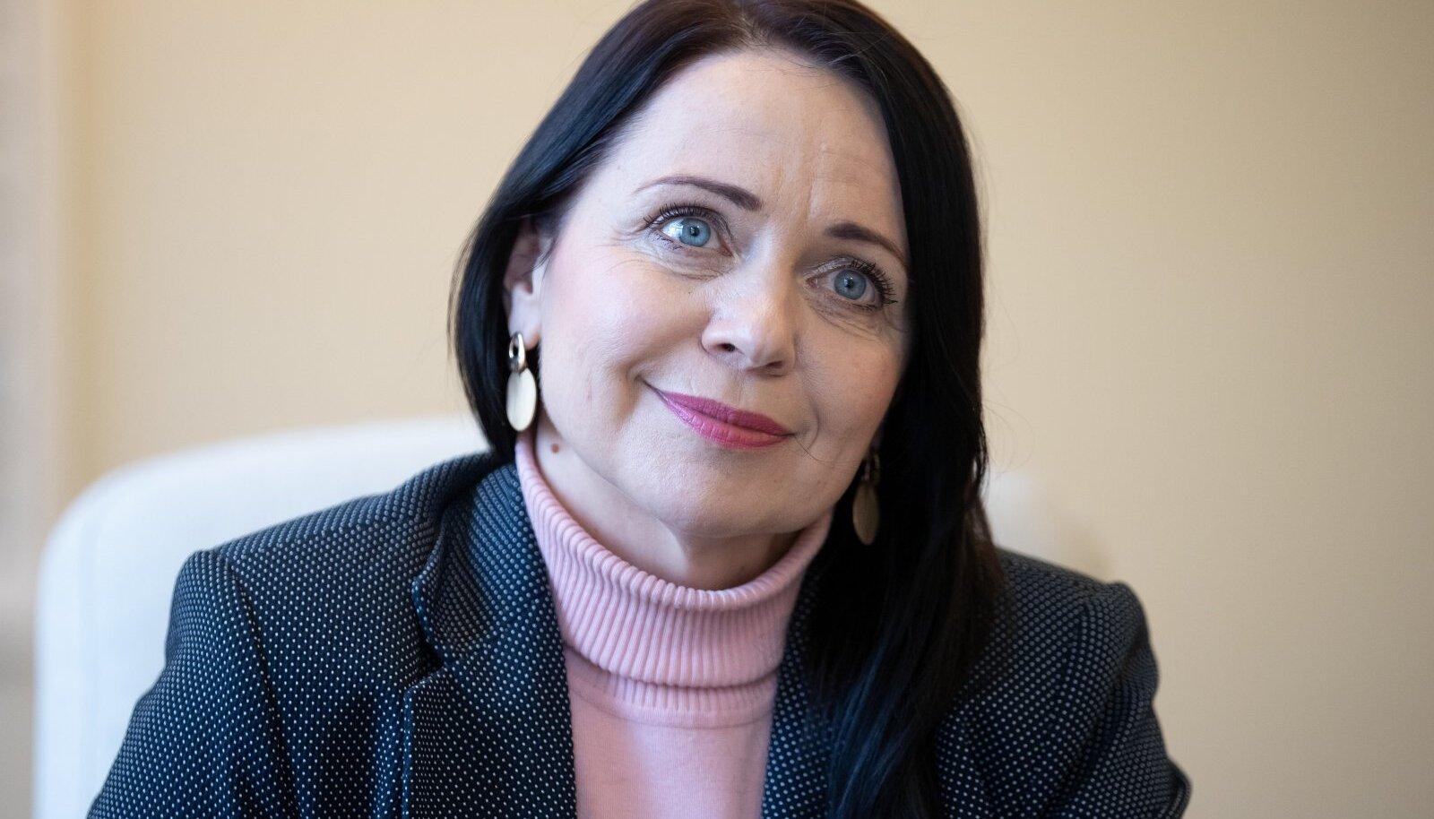 Eesti Vabariigi kultuuriminister Anneli Ott