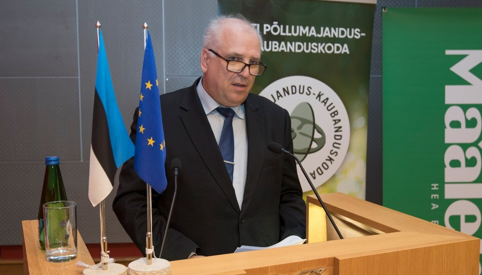 Aasta Põllumees 2019 konverents Riigikogu konverentsisaalis