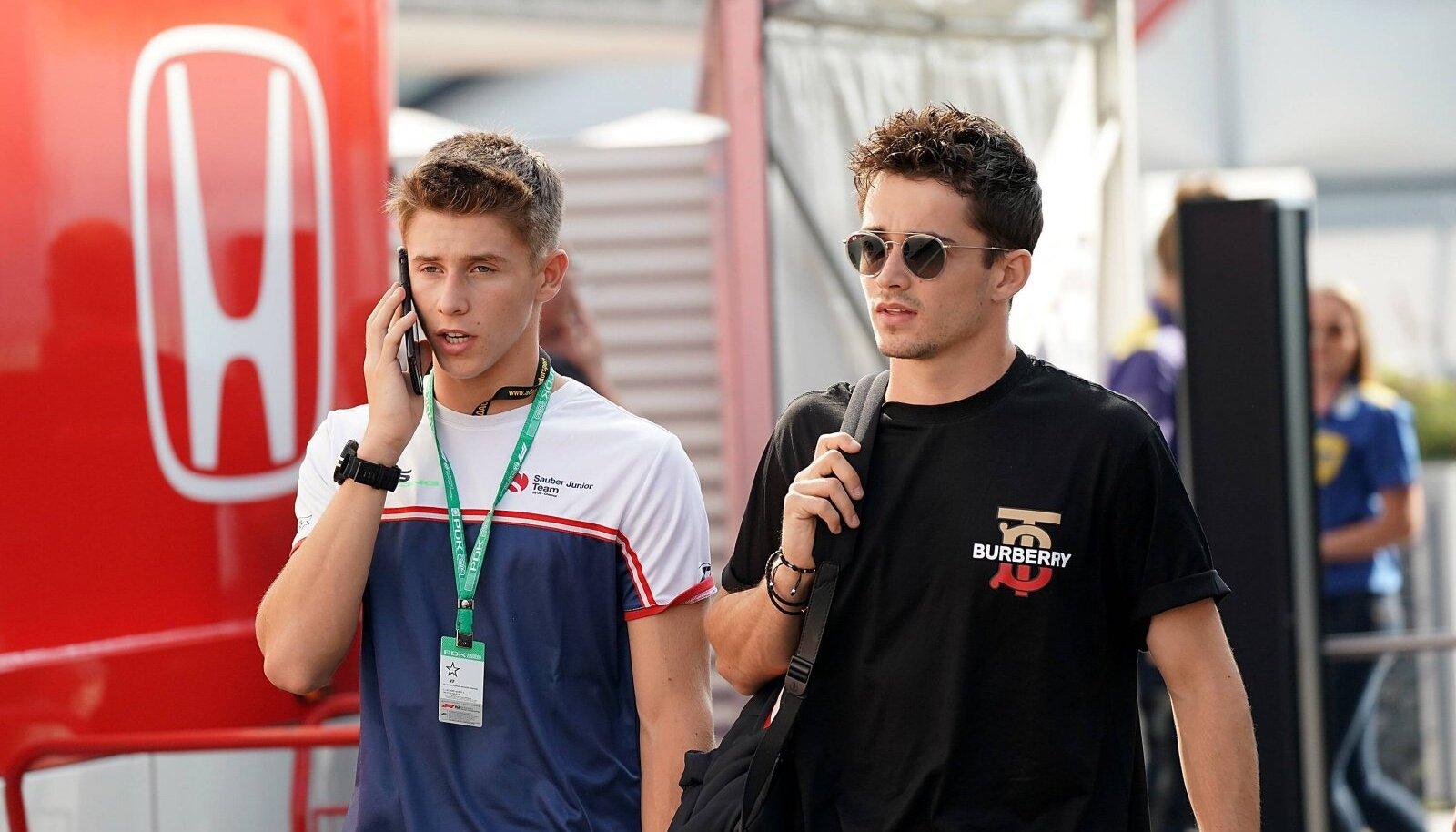 Vennad Leclercid, vasakul Arthur, paremal Charles.