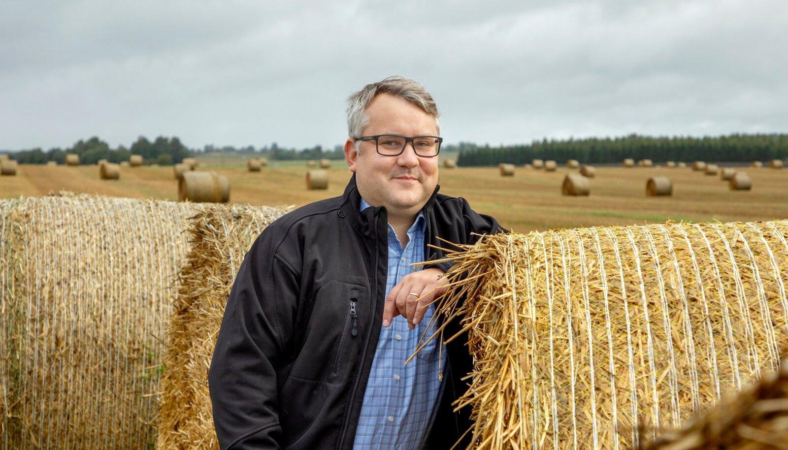 """""""Oleme aidanud valitsustel mõista, et põllumajandus on oluline valdkond,"""" võtab Roomet Sõrmus lühidalt kokku koja eesmärgid."""