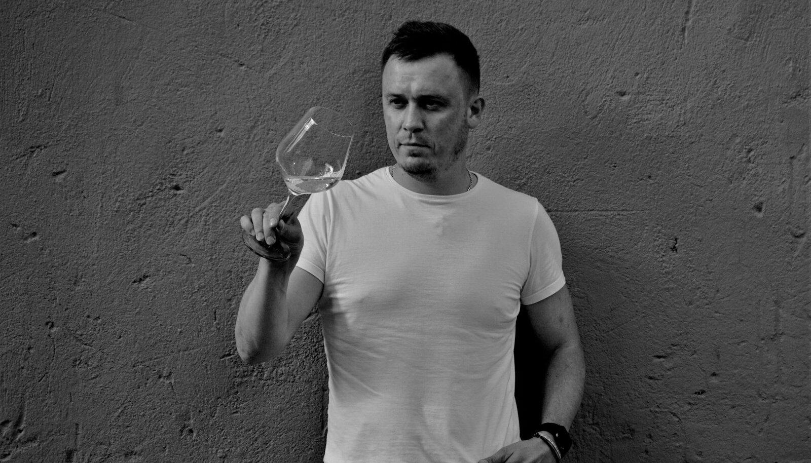 Time To Wine peremees, sommeljee Georgi Leinemann.