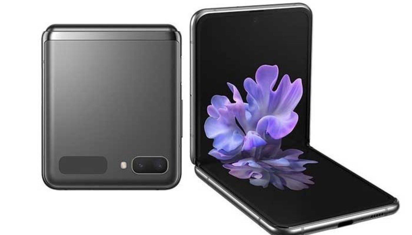 Galaxy Z Flip 5G, Samsungi seni uusimaid kokkupandavaid telefone (tootja foto)