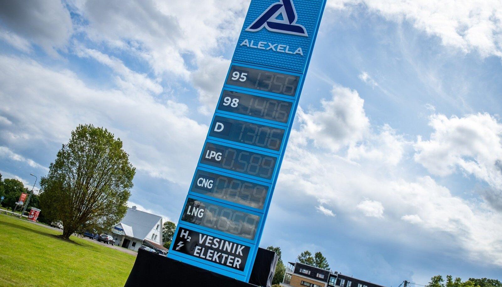 Alexela LNG tankla avamine