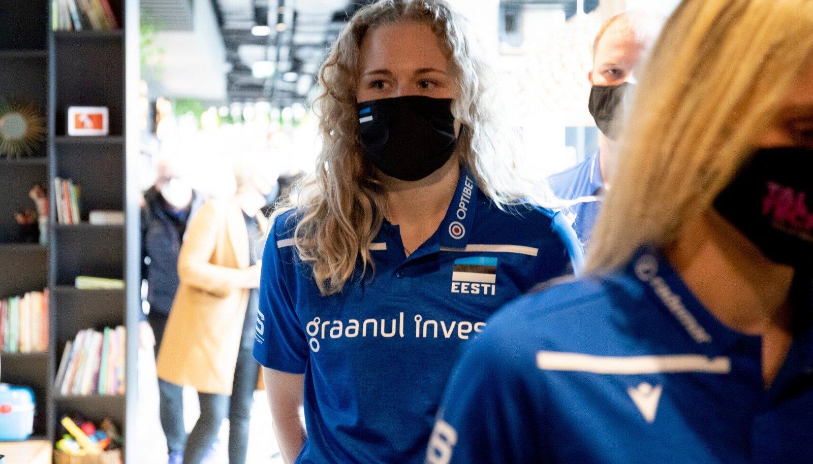 Prantsusmaal mängunälga tundnud Kristiine Miilen juba kibeleb Eesti koondise eest platsile.