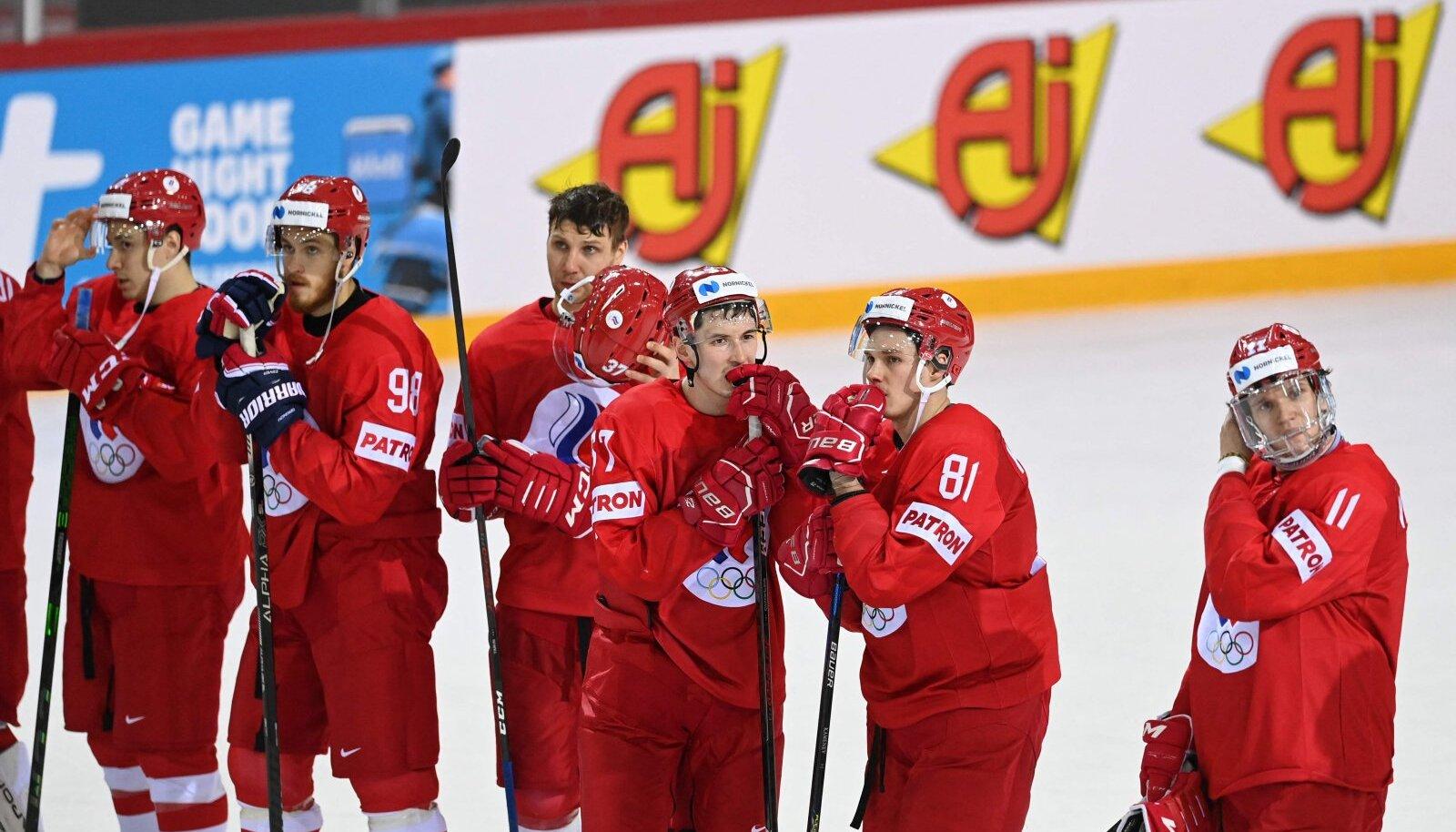 Löödud venelased pärast kaotust Slovakkiale