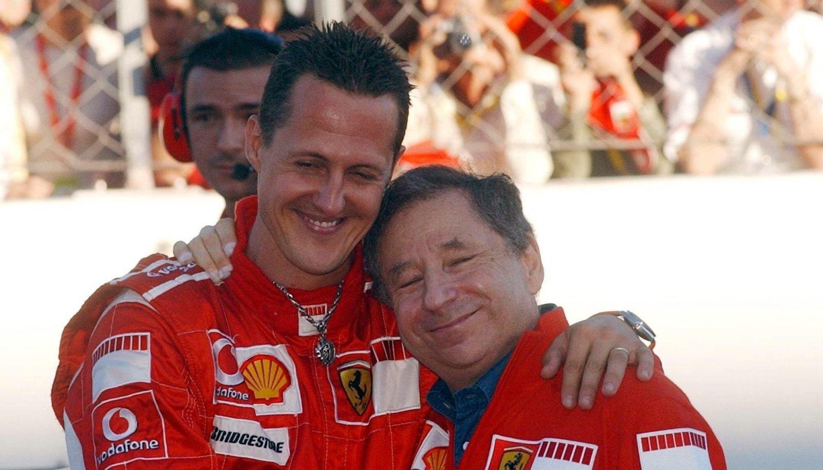 Michael Schumacher ja Jean Todt 2006. aastal.