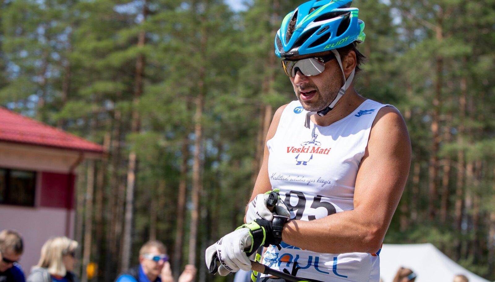 Andrus Veerpalu 2019. aastal Alutagusel Eviko Suverullil.