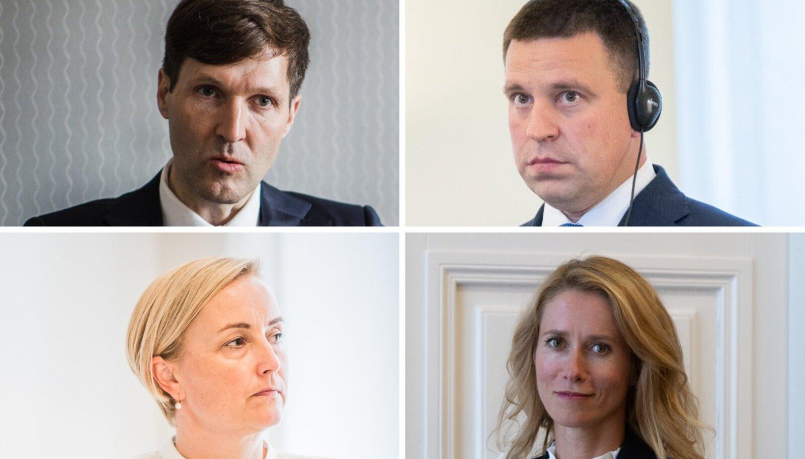 Keskerakond kaotas toetust ja nende reiting on nüüd sisuliselt võrdne Eesti 200-ga.