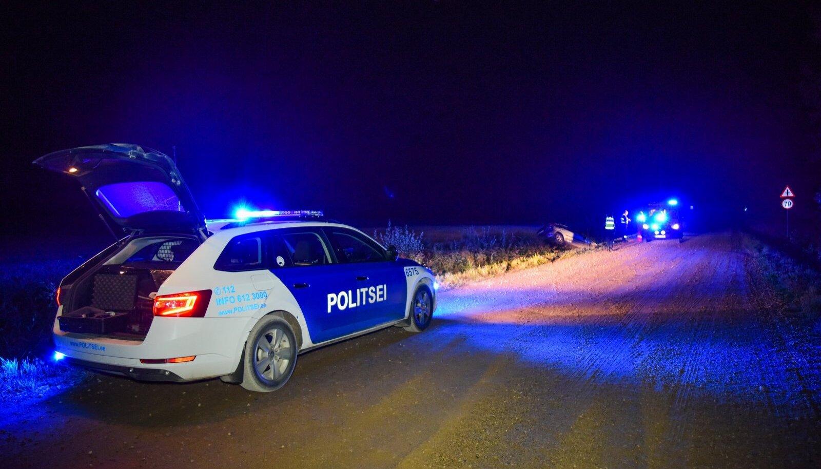 Pühapäeval juhtus Eestis kaks inimkannatanuga liiklusõnnetust (foto on illustratiivne).