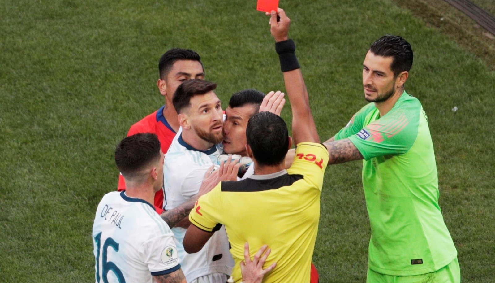 Copa America Brazil 2019 - Third Place Play Off - Argentina v Chile