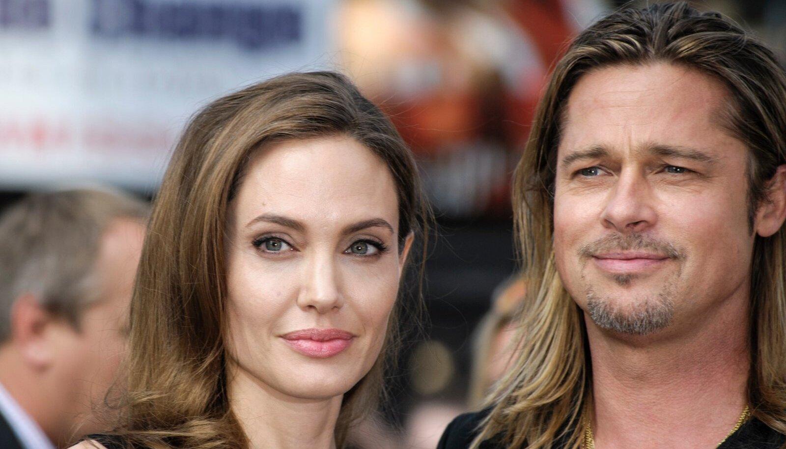 ARMASTUSEST SAI VIHKAMINE Angelina ja Brad peavad miljoneid dollareid neelavat kodusõda.