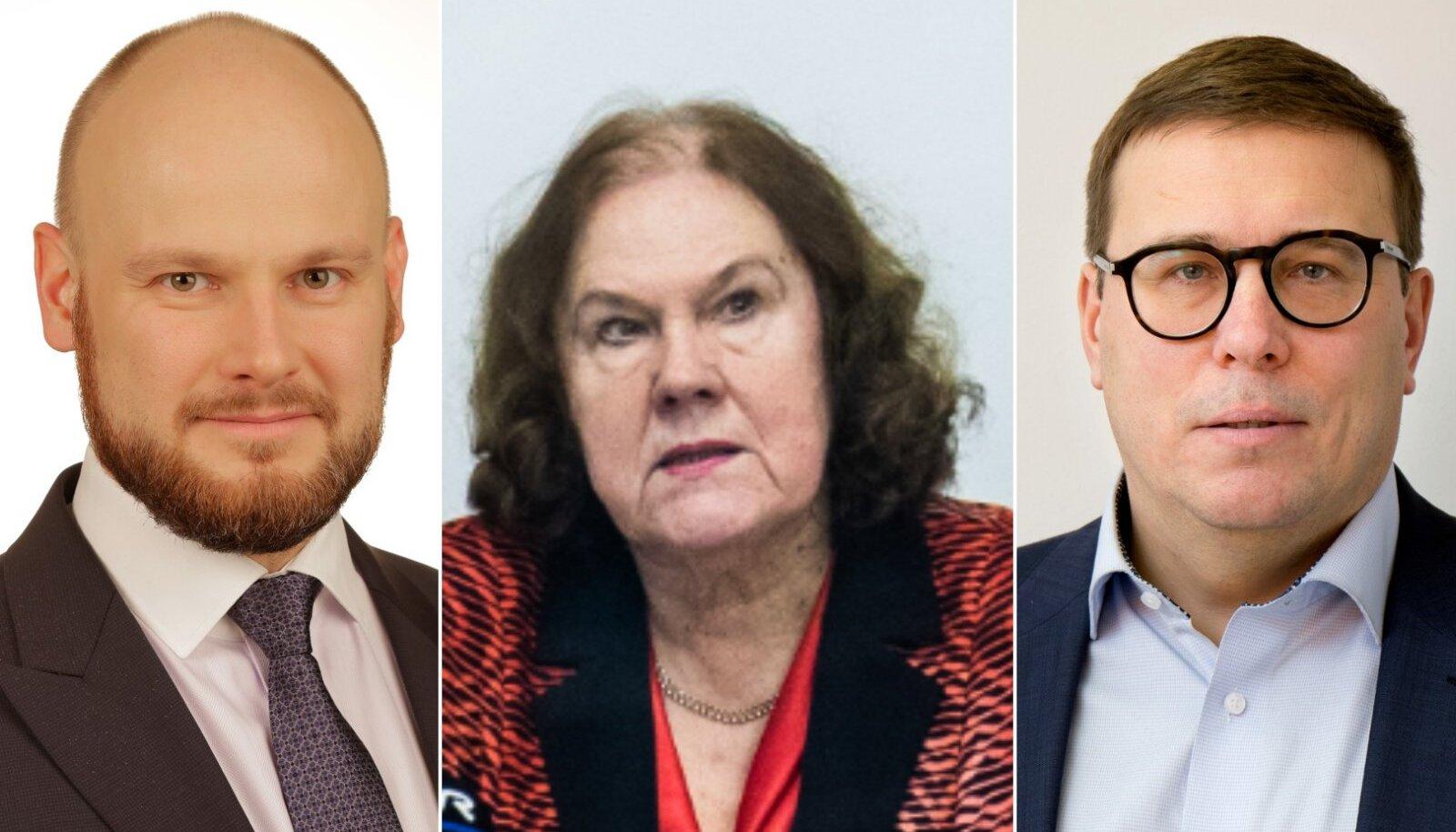 Porto Francot puudutava revisjoni kulgu juhivad Anto Liivat (SDE), Priidu Pärna (Isamaa) ja Helve Särgava.