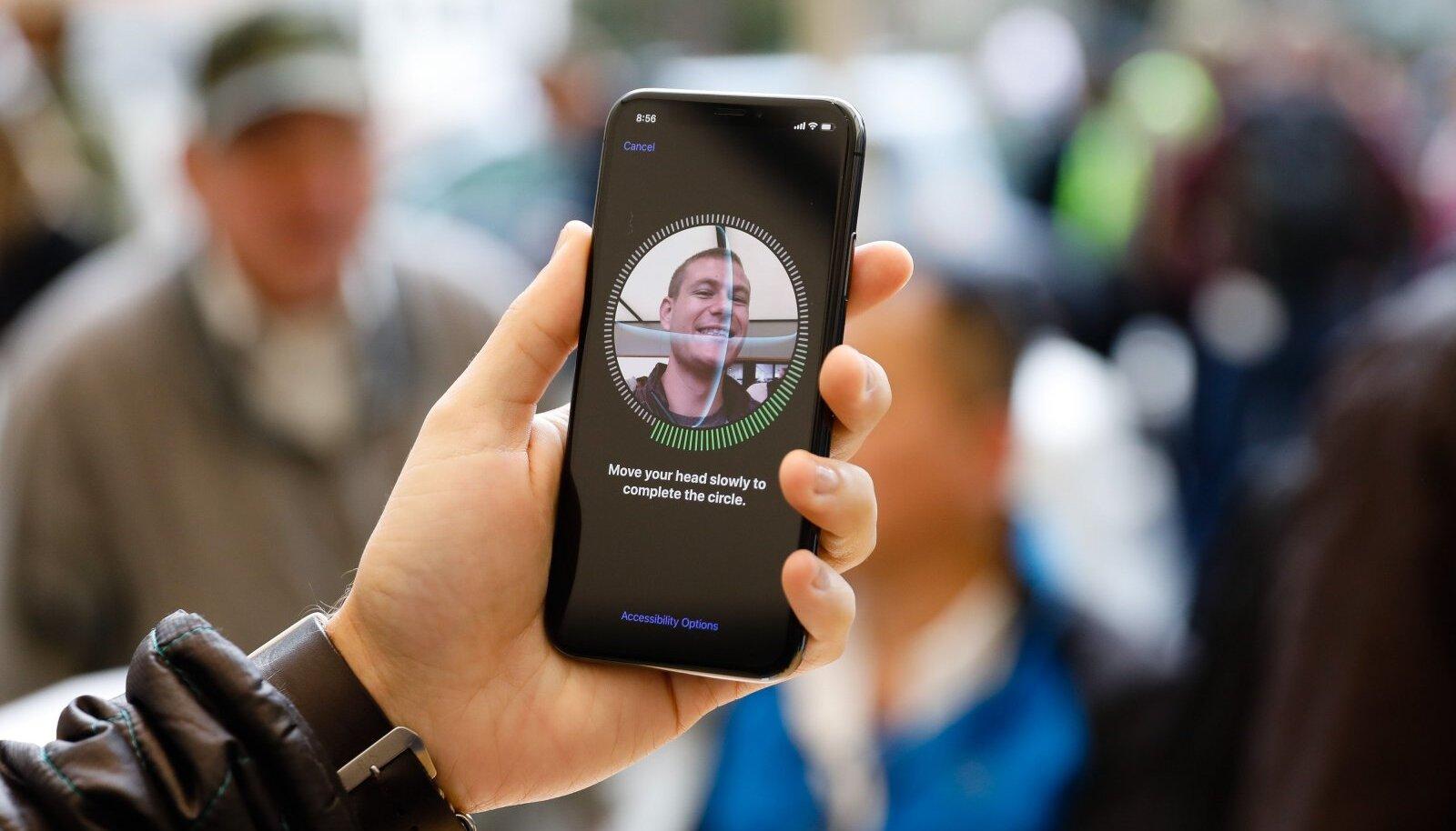Apple'i Face ID nutitelefonis