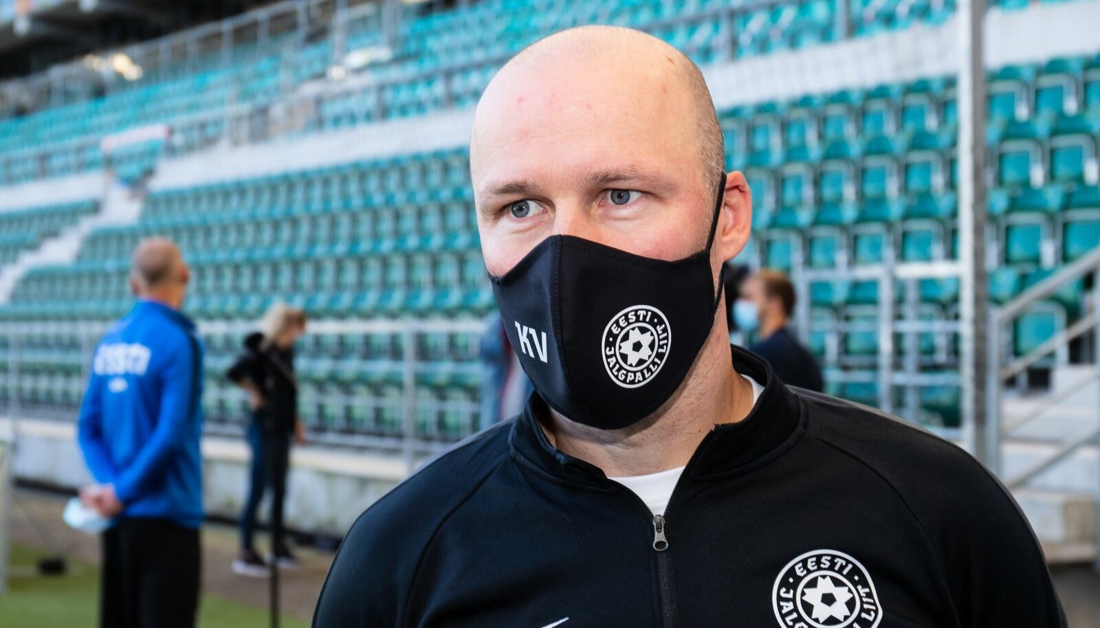Eesti koondise peatreener Karel Voolaid 05.10.2020