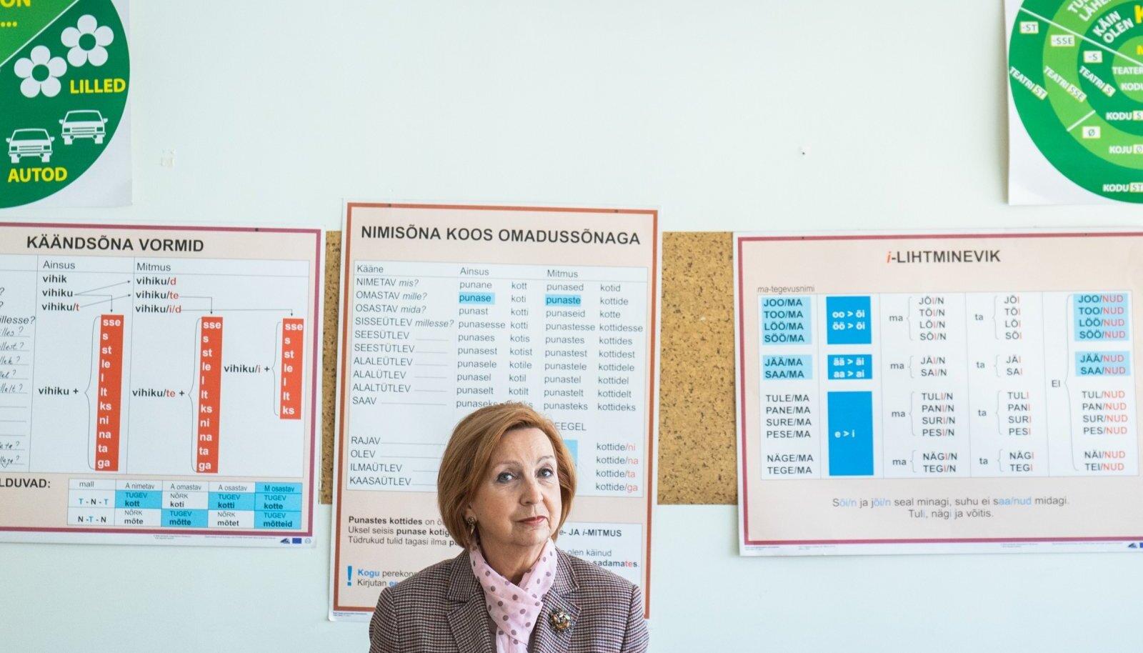 Direktor Rita Rumm juhib Tallinna Mahtra põhikooli, kus on nii puhtalt venekeelseid kui ka keelekümblusklasse.