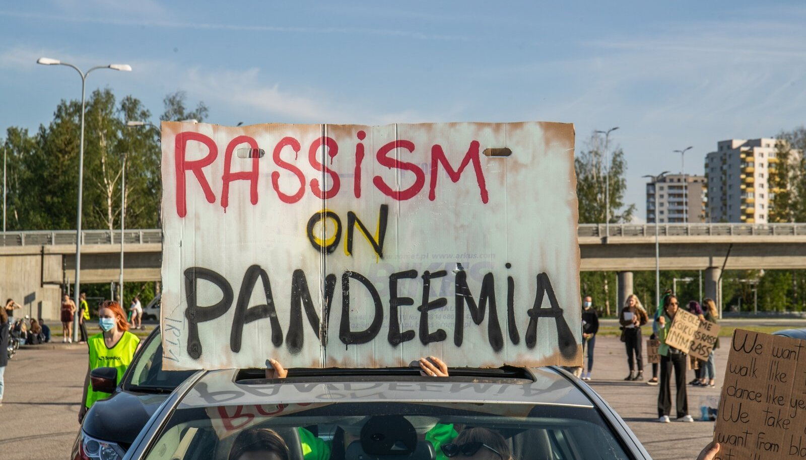 Black Lives Matter meeleavaldus Tallinnas