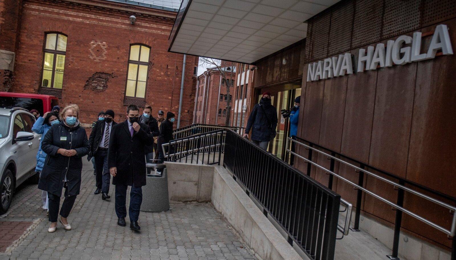 Möödunud nädalal külastas Narvat ka peaministerJüri Ratas, kes sai visiidil olles teada, et on ise nakatunu lähikontaktne.