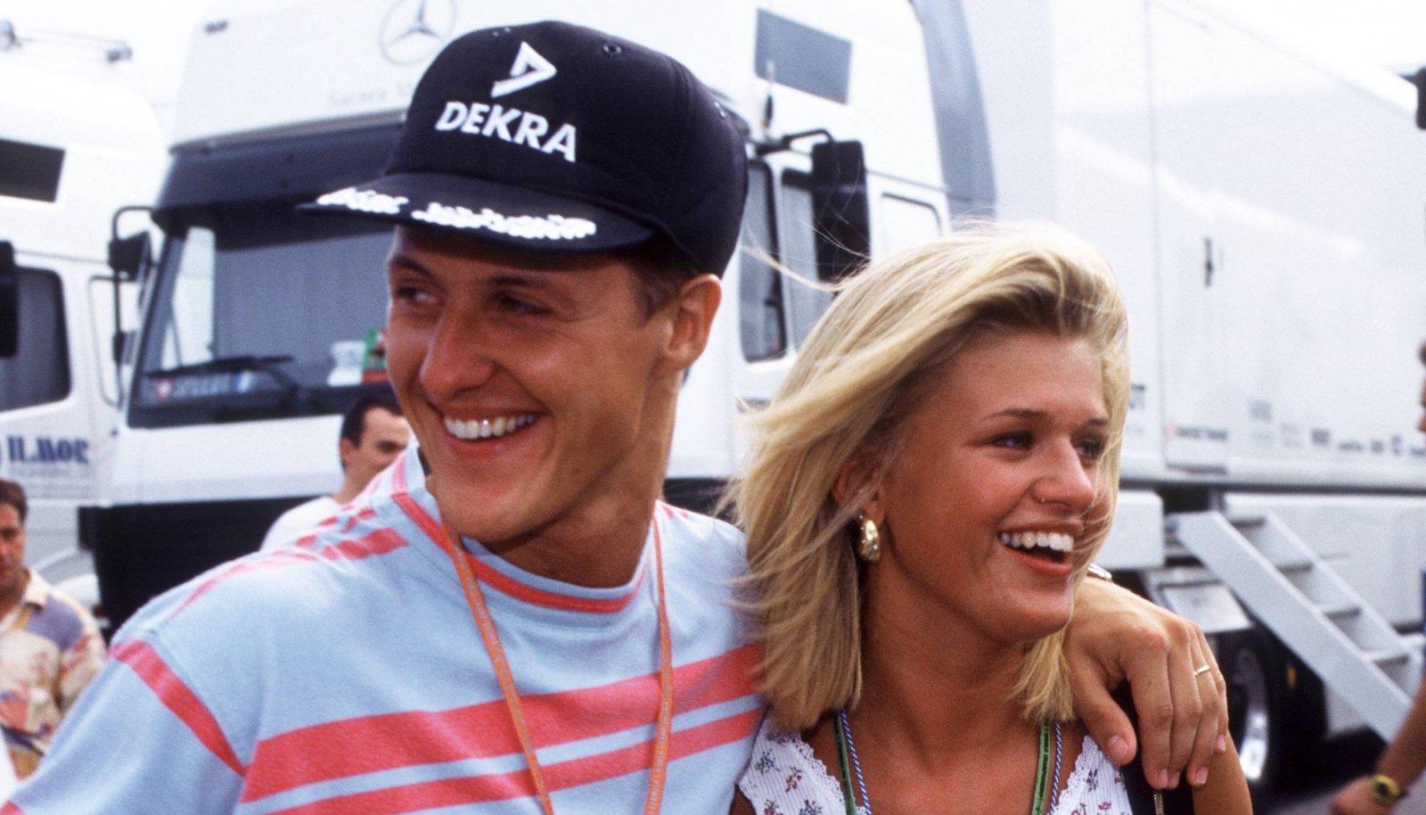 Corinna Schumacher käis Michaeli hiilgeaegadel igal F1 etapil kaasas.