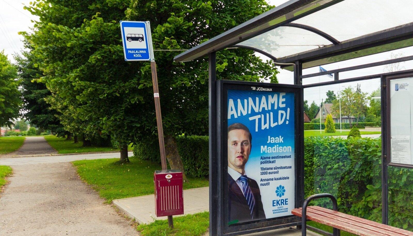 Paalalinna kooli bussipeatus 16.08.2017