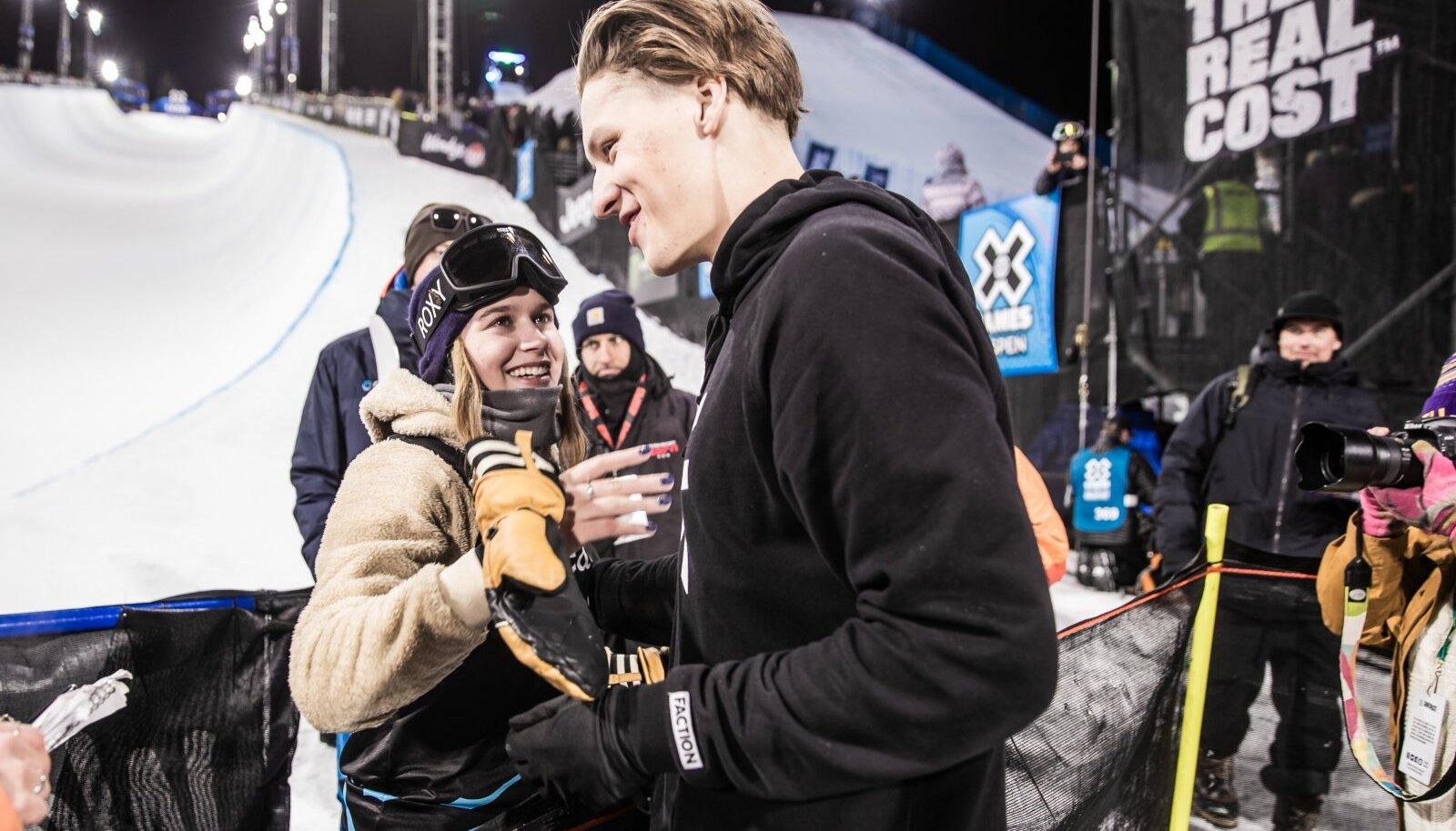 Kelly Sildaru ja Mihkel Ustavi koostöö tõi esimesel hooajal kaks X-Mängude kuldmedalit.