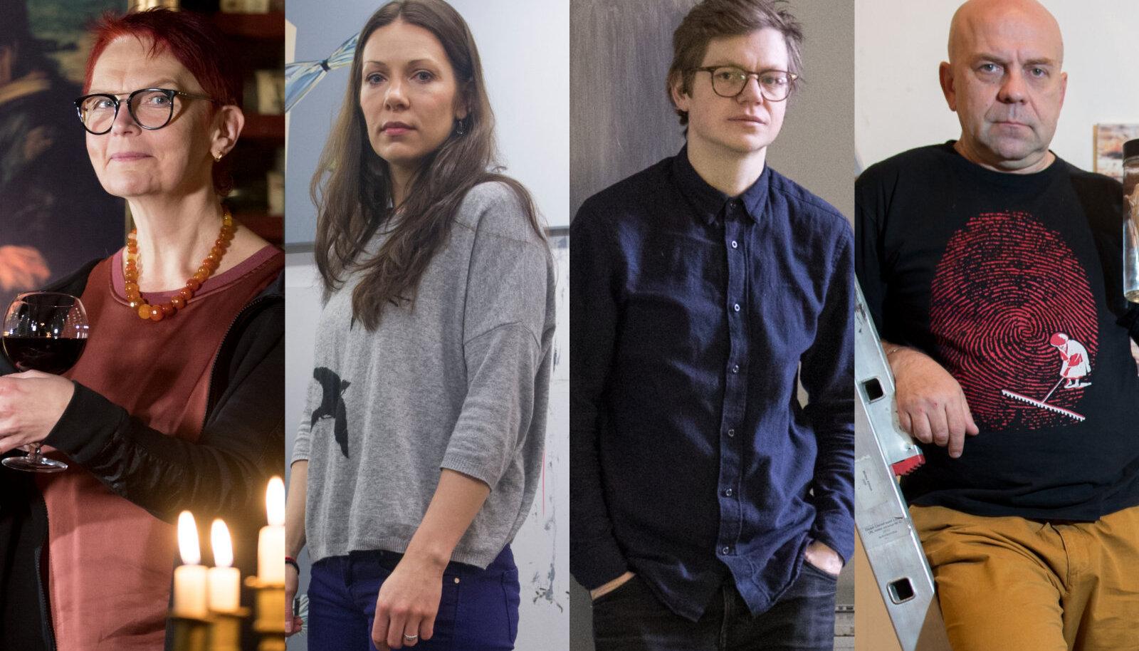 Kai Kaljo, Maarit Murka, Jaanus Samma, Peeter Laurits.