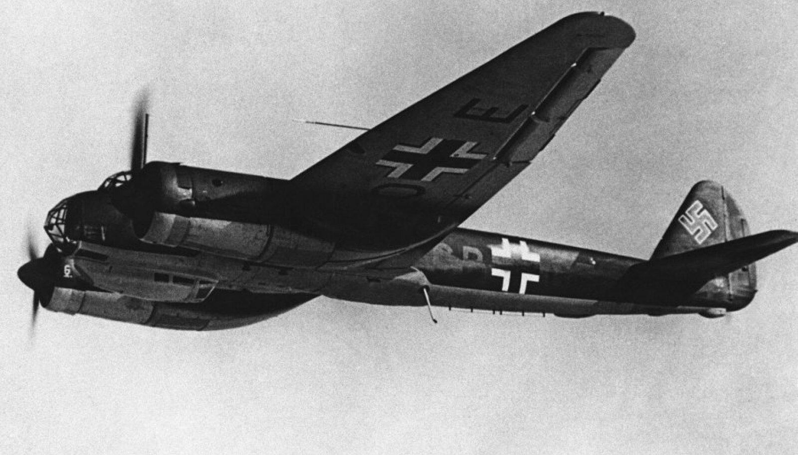 Pommitaja Junkers Ju 88