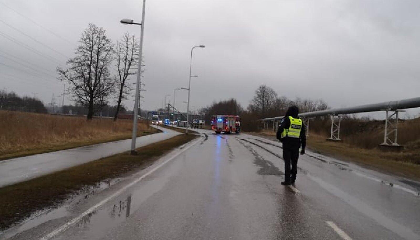 Liiklusõnnetus Maardu teel