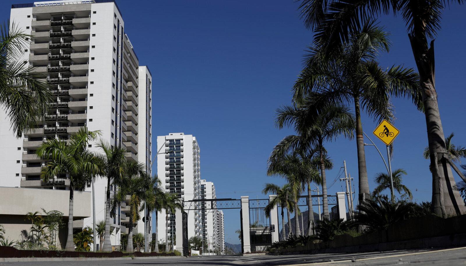 Rio olümpiaküla.