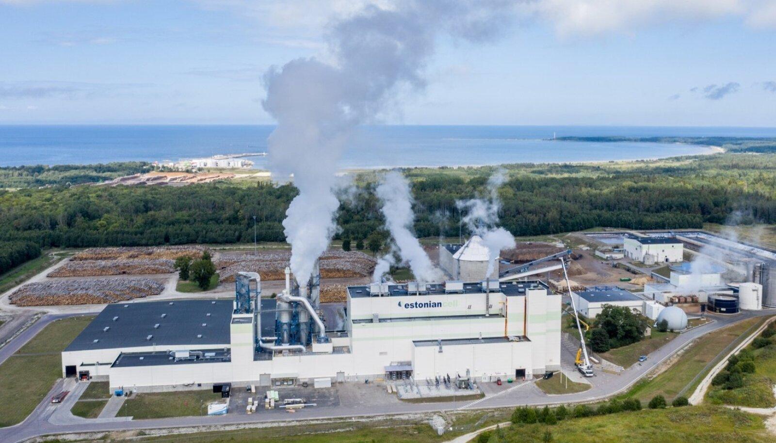 Kunda mainet hoiab kõrgel kunagisi suuremaid tööstusinvesteeringuid Estonian Cell, kelle toore tuleb Eestist.