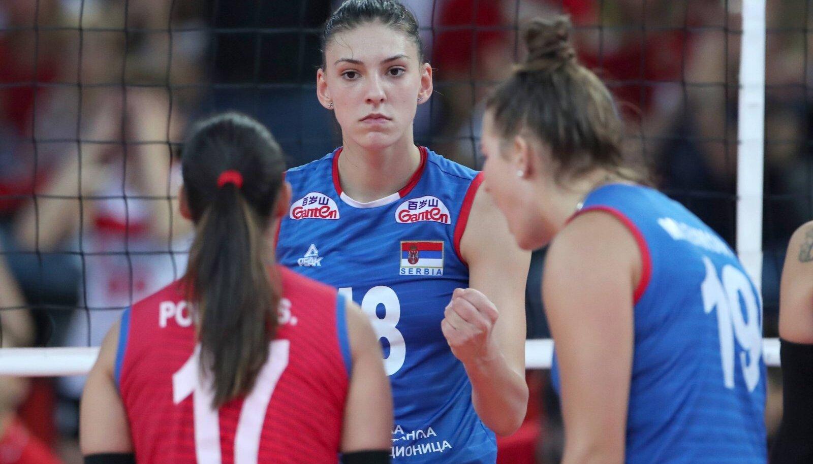 Serbia mängijad